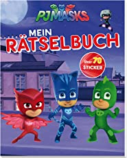 PJ Masks Mein Rätselbuch: Mit über 70 coolen Stickern