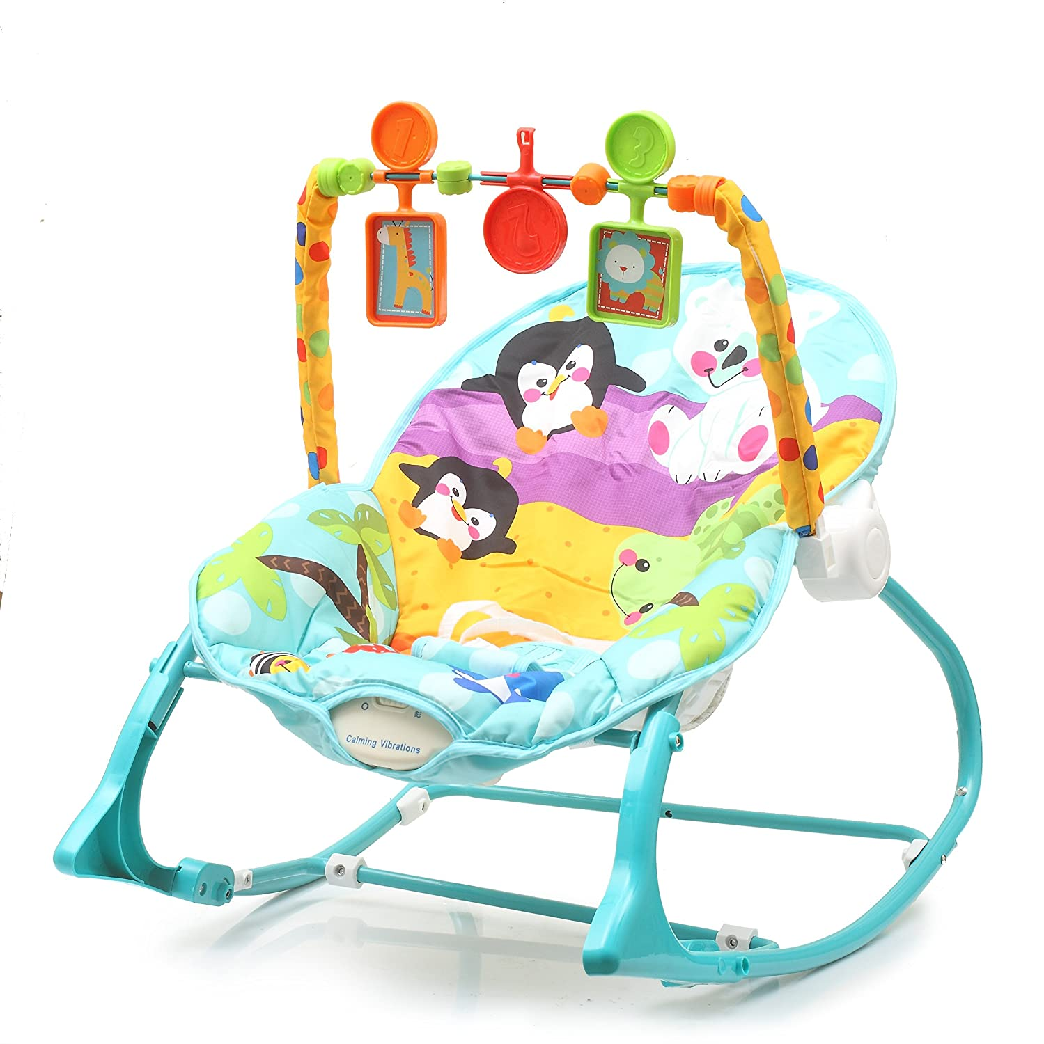 Buy The Flyers Bay Fiddle Diddle Baby Bouncer Cum Rocker With