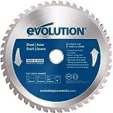 Evolution Power Tools Roestvrij stalen snijvlak, zachtmes 48 tanden 9 Inch blauw