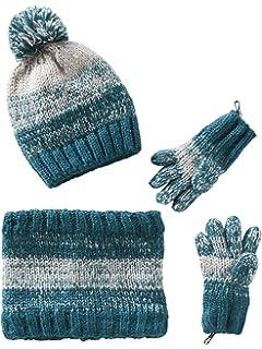 0fb65c60722 VERTBAUDET Bonnet + snood + moufles bébé tricot doublés polaire Gris ...