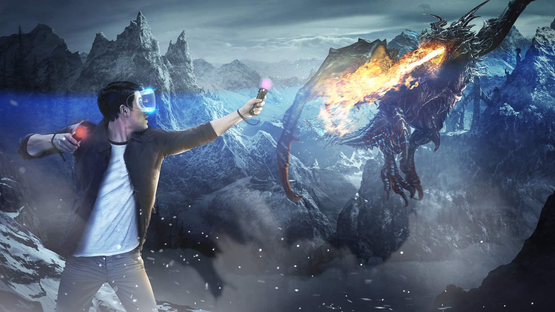 VR PS4 Dragon