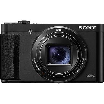 Sony DSC-HX95B - Cámara compacta de 18.2 MP (Objetivo Zoom ZEISS 24-720 mm, vídeos 4K, rápido Enfoque automático y Eye AF, Visor OLED, Pantalla táctil con ...