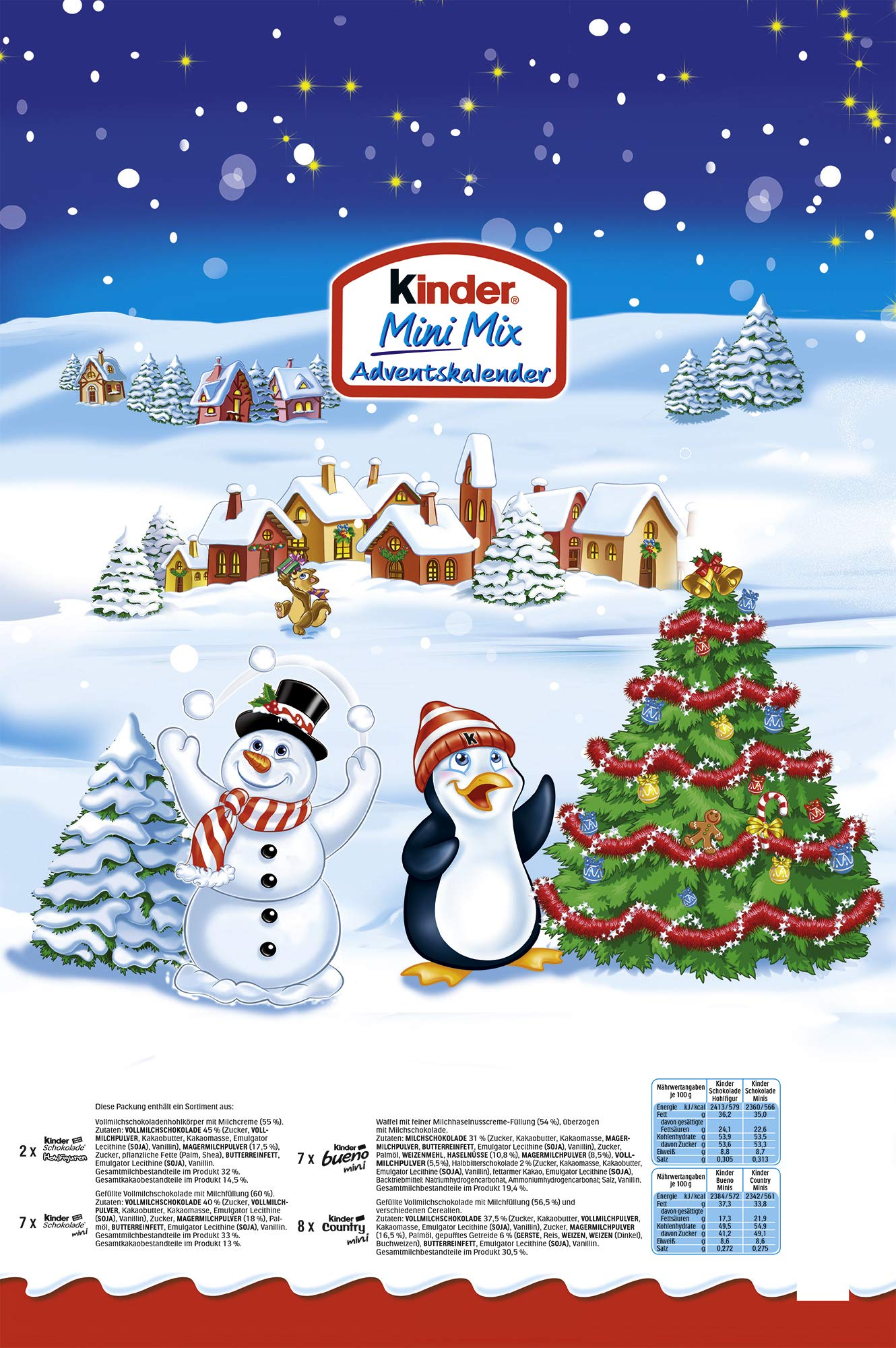 Calendario Avvento Kinder.Ferrero Kinder Mini Mix Calendario Dell Avvento 152g 1pezzo