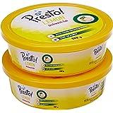 Amazon Brand - Presto! Dishwash Tub Bar with Free Scrub Pad - 500 g (Pack of 2)