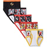 Disney Increíbles calzoncillos de ropa interior para niños Pack de 5