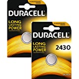 Duracell CR2430 Lithium-Knopfzelle (3V, Blisterverpackung) 2 Stück