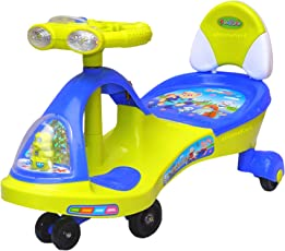Funride Boost DX Twist and Swing Magic Car with Front and Back LED Lights and Musical Rhymes ( 88 x 25 x 28 cm)