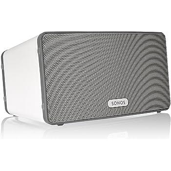 Sonos PLAY3EU1 - Lettore All-in-One, Wireless, Controllabile da Smartphone, Tablet e PC, Bianco