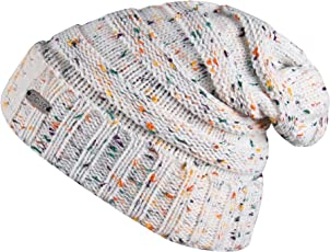 Noise NOICAPWNTR051 Polyester Dot Knitted Beanie, Adult (White)