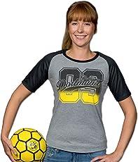Borussia Dortmund BVB-09-T-Shirt für Frauen (Anthrazit)
