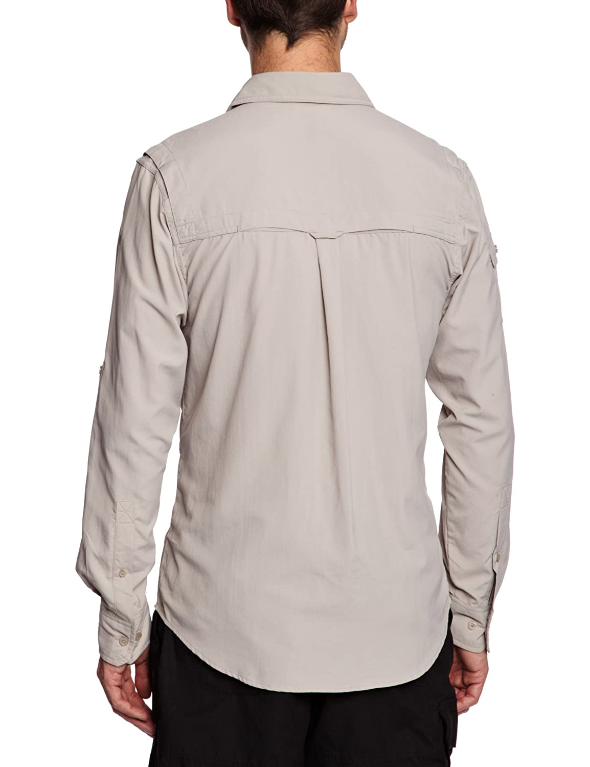 Mens craghoppers kiwi long sleeve travel safari hiking shirt size xl - Craghoppers Nosilife Mens Long Sleeved Insect Repellent Shirt Amazon Co Uk Sports Outdoors
