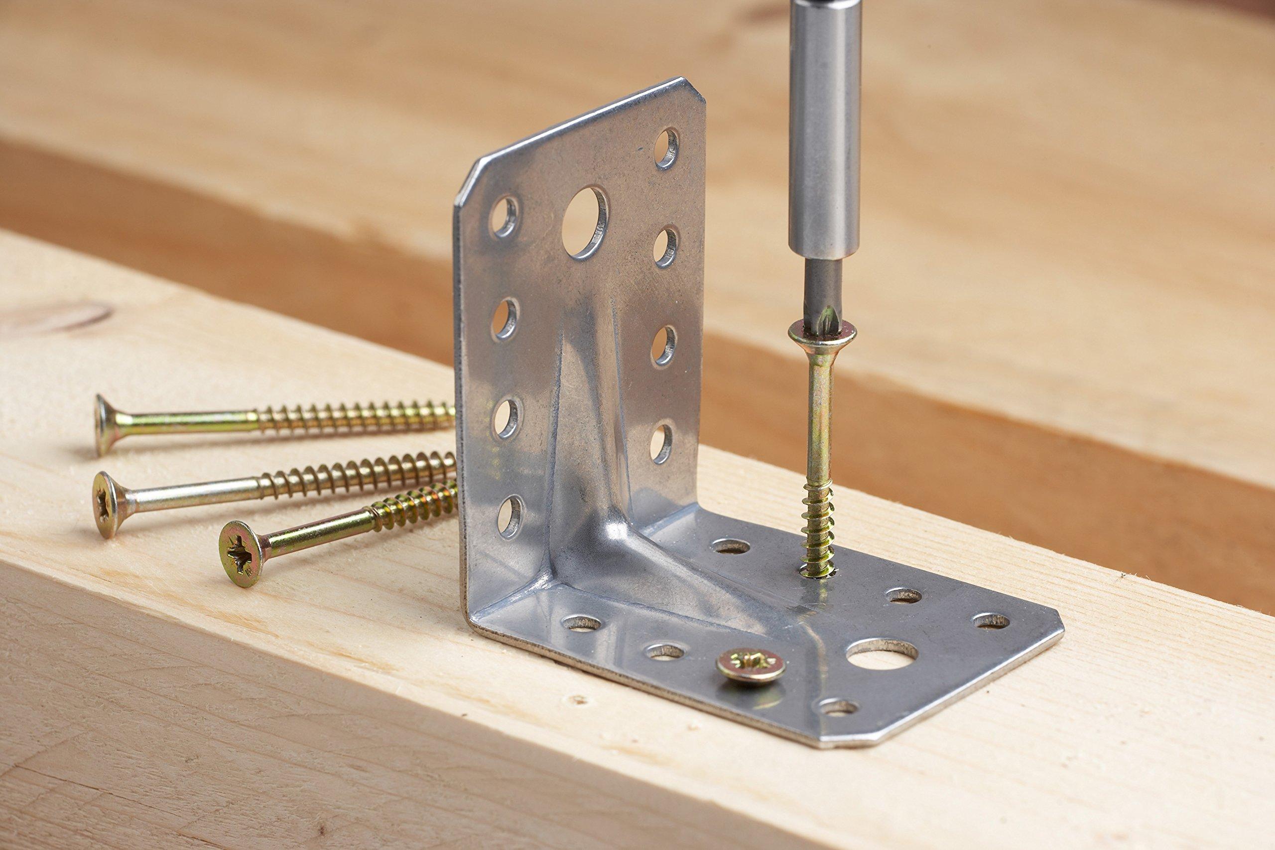 81xVQvfVCLL - Meister 3385430 - Juego de puntas de destornillador con adaptador (130 piezas, cromo vanadio)