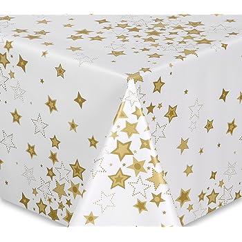 Wachstuch Tischdecke Top Qualität Meterware Weihnachtsbaum Schmuck Länge wählbar