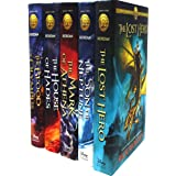 The Heroes of Olympus Collection 5 Books Set Collection by Rick Riordan (Hardback) Hardcover – 2018