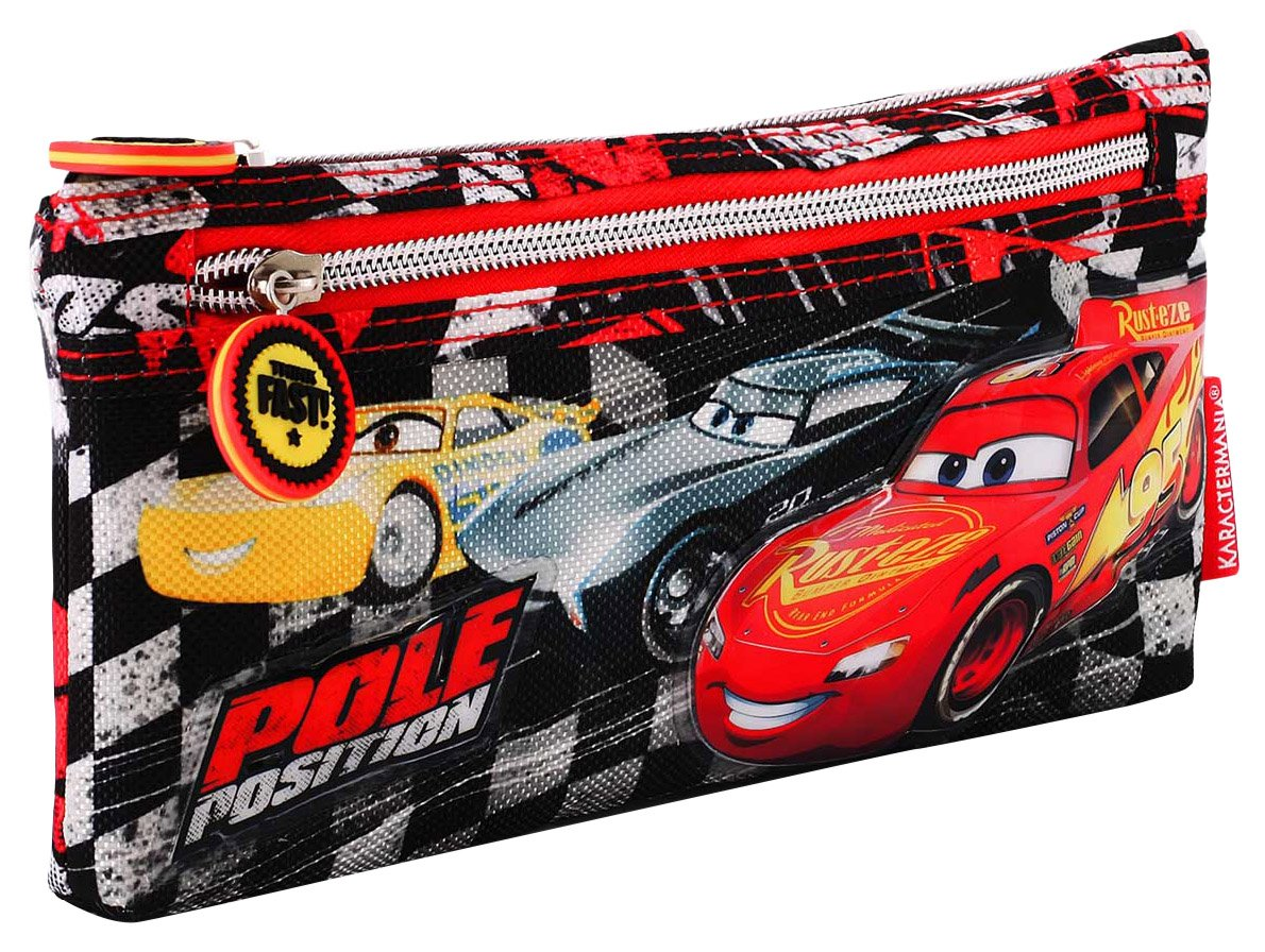 Karactermania Cars 3 Pole Estuches, 22 cm, Negro