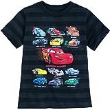 Disney Cars - Camiseta para niños, diseño de Rayas
