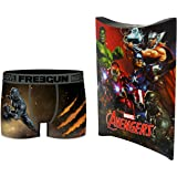 MARVEL AVENGERS Freegun Official Collection Men's Boxer Shorts with Gift Pouch