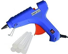 ApTechDeals Bond 40W Triple Power Rapid Heating and Quick Melt Glue Gun with 5 Sticks (Pack of 5 Sticks)