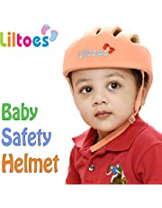 Liltoes Baby Safety Helmet, Orange