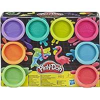 Play-Doh – 8 Pots de Pate à Modeler - Couleurs Fluo - 56 g chacun