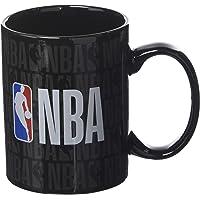 La Piuma Dorata Logo Tazza in Scatola Individuale NBA Unisex Bambino, Nero