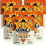 Quinola – Organic Golden Vegetables Quinoa - Express Ready to Eat Pouches - 250g x 6 Packs