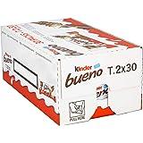 Kinder Bueno Chocolate Bars, 44 g (Pack of 30)