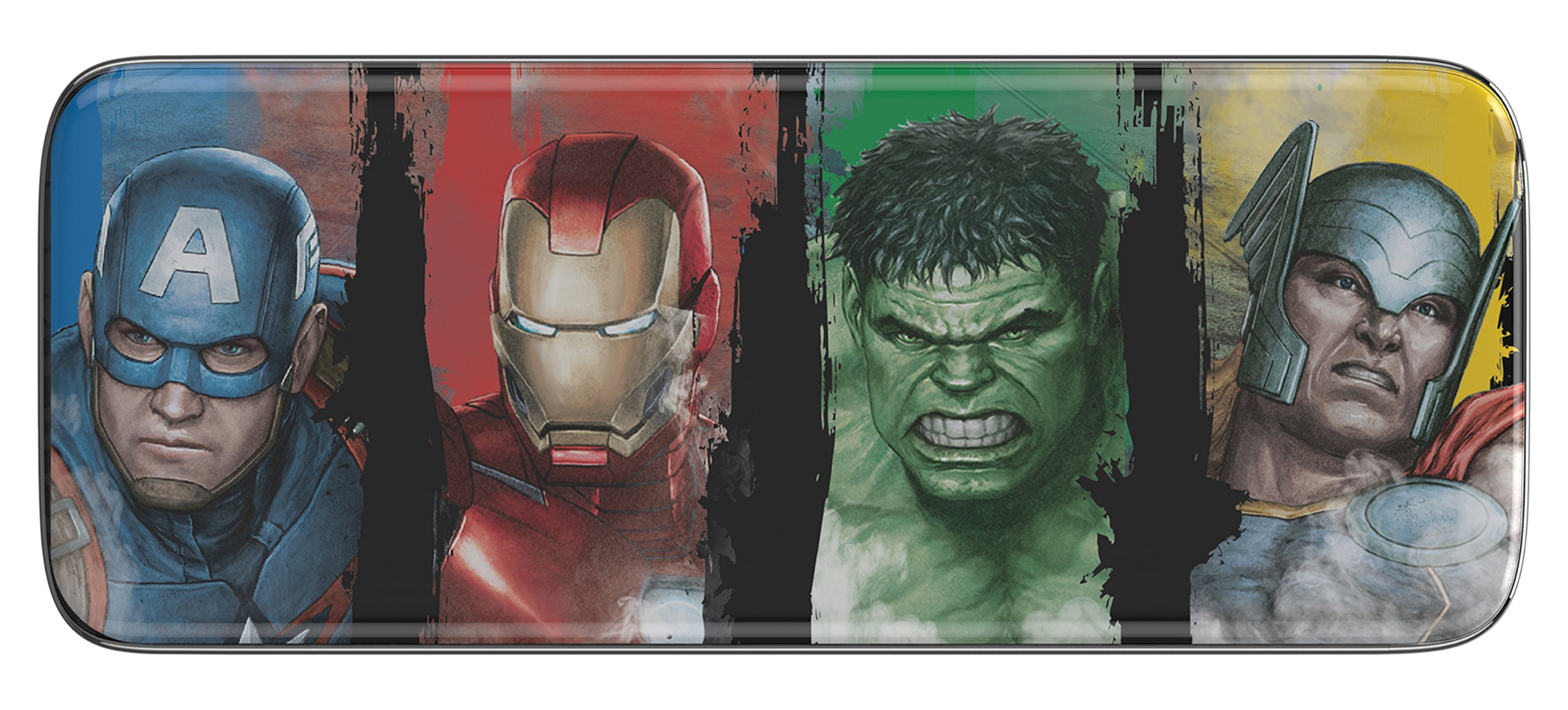 Marvel Avengers – Estuche de lápices, Color Rojo