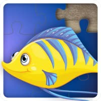 Fun Ocean Fish Jigsaw Puzzles for kids and toddlers - Free to try Edition - Educational Jigsaw Puzzle Game for Kids and Preschoolers, Boys and Girls from 1 - 10 years old