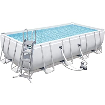 Bestway power steel rectangular swimming pool 14812 - How many litres in a swimming pool ...