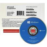 Windows 10 Home 64 bits OEM   DVD   Windows 10 Famille 64 bits   Système d'exploitation 64 bits   License Français