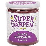 Supergarden gevriesdroogde zwarte bessenpoeder - 100% puur en natuurlijk - Veganistisch - Zonder toegevoegde suiker, kunstmat