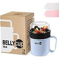 BELLYCUP Gobelet à céreales ou Gobelet à Muesli - sans BPA - Votre gobelet à muesli pratique pour les déplacements…