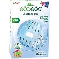 Ecoegg EELE210SC - Ovetto da bucato Ecologico con Sfere minerali all'Interno, Durevole per 210 lavaggi, profumato ai…