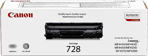 Canon 3500B002 Toner CRG-728, Nero