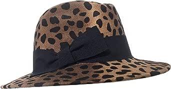 FANTASIE TERRENE - Firenze. Cappello Donna in Feltro Maculato, Invernale, Made in Italy, Fashion, Elegante. Colore: Maculato