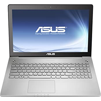 "Asus N550JK - Portátil táctil de 15.6"" (IPS,1920x1080) (Intel core i7-4710HQ, 1 x 8 GB de RAM, 1 TB de disco duro, nVidia GTX850M con 4 GB, Windows 8.1 64), plata - Teclado QWERTY español"