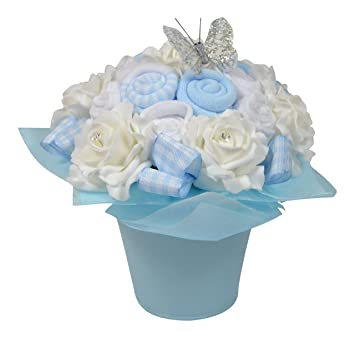 Baby boy sock pail posy of socks flowers new baby gift 0 3 baby boy sock pail posy of socks flowers new baby gift 0 3 negle Image collections