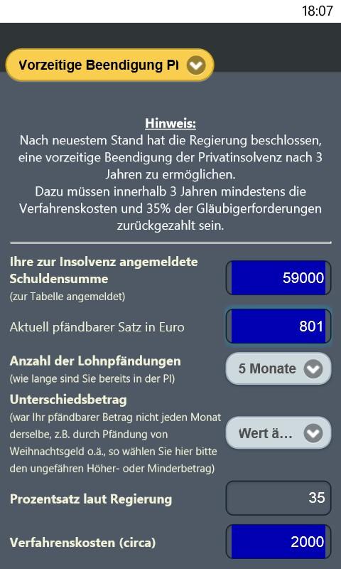Der Pfändungsrechner Amazonde Apps Für Android
