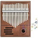 Kalimba 17 Clés Pouce Piano, Instrument de Musique Portable Pouce Doigt Piano de Manuel d'étude, Musique Cadeau pour Enfants