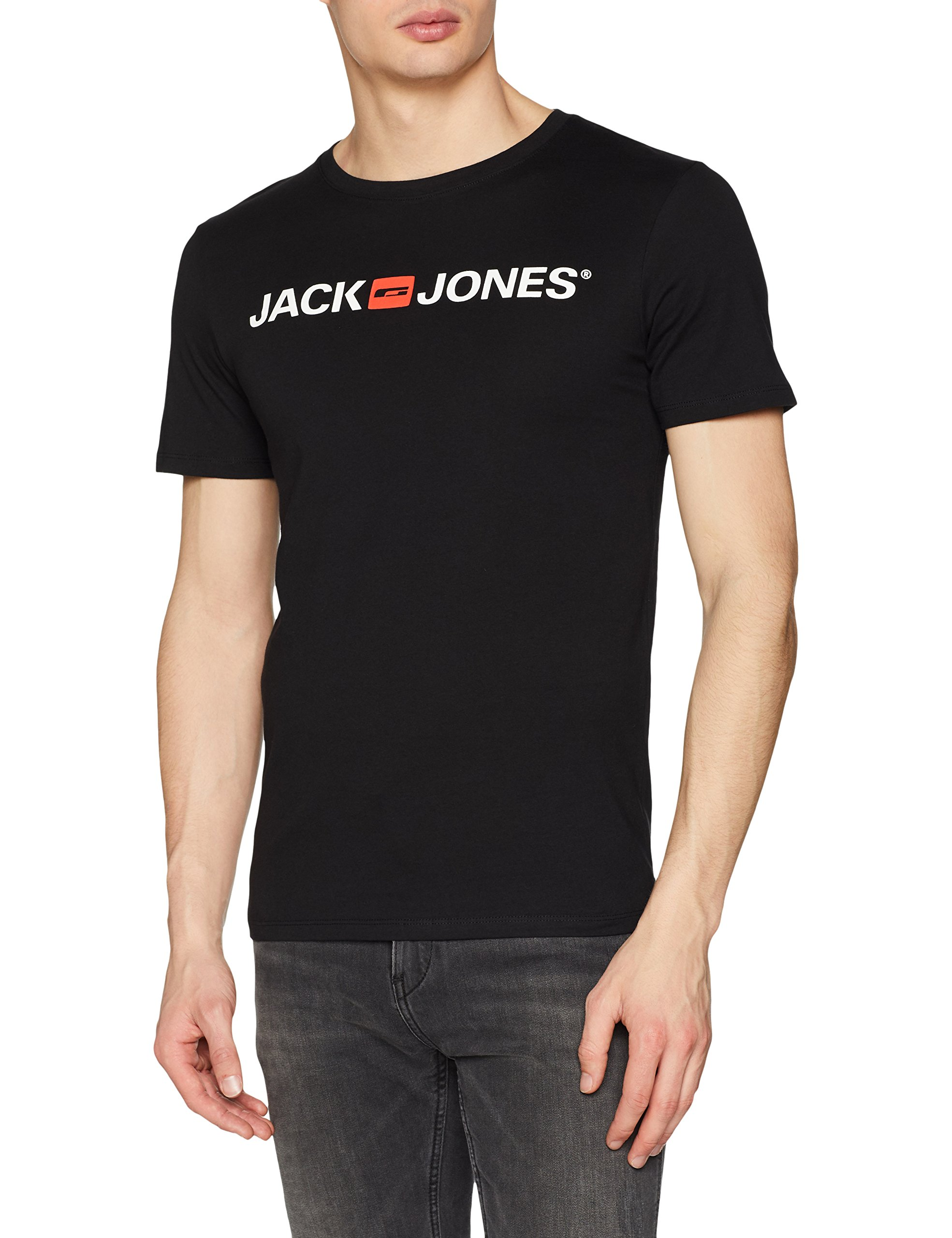 Jack & Jones Jjecorp Logo tee SS Crew Neck Noos Camiseta para Hombre