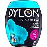 ملابس Dylon أقمشة الغسيل المفروشات الناعمة 350 جرام مصبوغ بالآلة لون أزرق اللون 350 جرام (عبوة من 1)