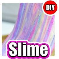 How to Make Fluffy Glitter Slime - DYI