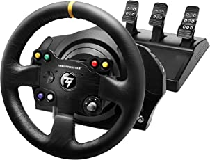 Thrustmaster VG TX Leather Edition Premium Official Xbox One Racing Wheel for Xbox One and PC