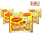 Maggi 2 Minutes Noodles Curry 79g (Pack of  5)