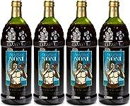 The Original Authentic TAHITIAN NONI Juice by Morinda (4PK Case), 1 liter bottles