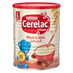 Nestle Cerelac Infant Cereal Wheat & Dates Tin 400g