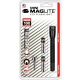 Mag-Lite LED Mini AAA zaklamp tot 84 lumen, 12,5 cm, incl. 2 micro-batterijen en zakclip, zwart, SP32016