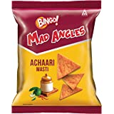Bingo! Mad Angles – Achaari Masti, 72.5g Pack, Crunchy Triangle Chips Perfect for Snacking