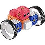 Robo Wunderkind - Set di robotica modulare - Starter Kit - 5 mattoncini e 12 Parti - Gioco STEM programmabile - 2 App…